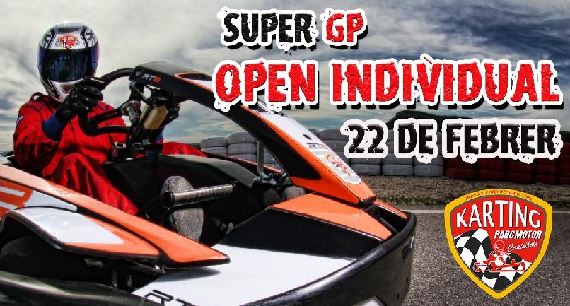 SUPER GP OPEN INDIVIDUAL / 22 DE FEBRERO