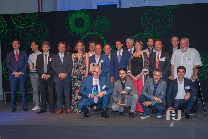 Karting Castellolí rep el premi de la UEA a la capacitat emprenedora 2018